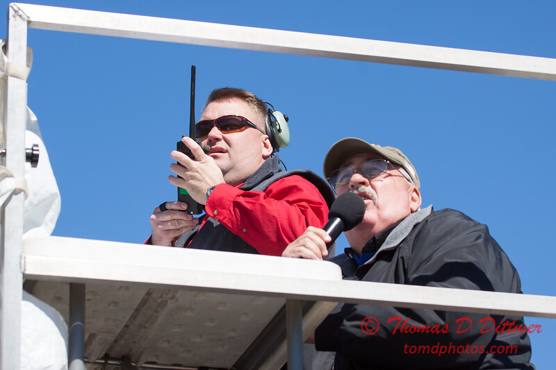 168 - The Airboss and Air Show Announcer at the South East Iowa Air Show in Burlington Iowa