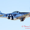442 - P51 Mustang departure at the South East Iowa Air Show in Burlington Iowa