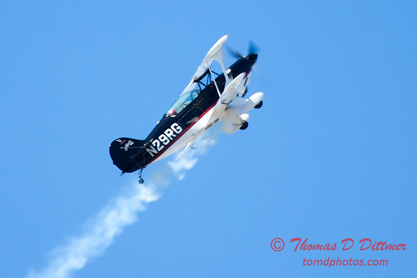 195 - Dick Schulz and the Raptor Pitts perform at the South East Iowa Air Show in Burlington Iowa