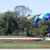 103 - Members of the Liberty Parachute Club drop into the South East Iowa Air Show in Burlington Iowa