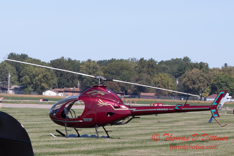 79 - A Rotorway Executive Helicopter at the South East Iowa Air Show in Burlington Iowa