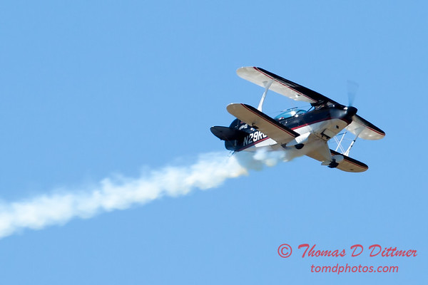 204 - Dick Schulz and the Raptor Pitts perform at the South East Iowa Air Show in Burlington Iowa