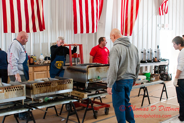 24 - Volunteers and fans at the breakfast prior to the South East Iowa Air Show in Burlington Iowa
