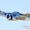 449 - P51 Mustang departure at the South East Iowa Air Show in Burlington Iowa