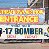 3 - Banners at the entrance to the South East Iowa Air Show in Burlington Iowa