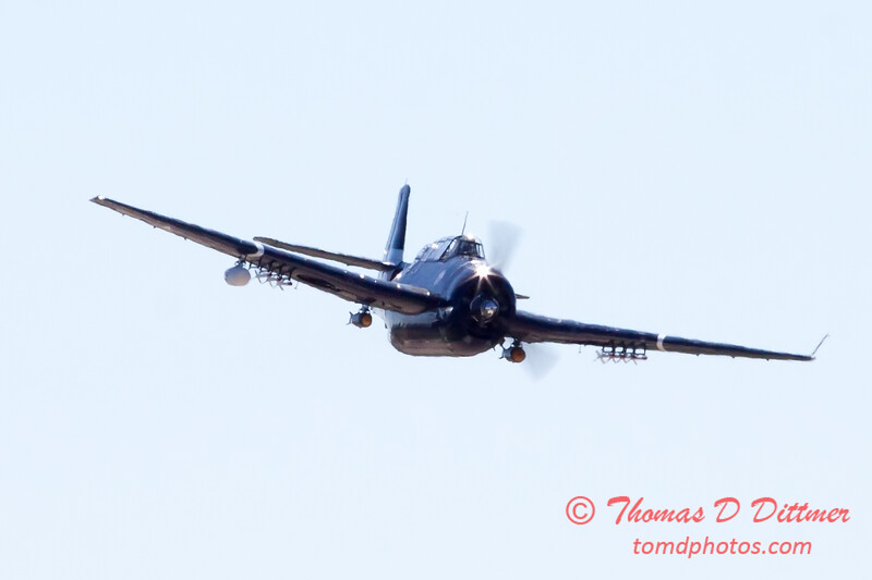 512 - TBM Fly By at the South East Iowa Air Show in Burlington Iowa
