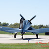 338 - A F4U Corsair taxies for departure at the South East Iowa Air Show in Burlington Iowa