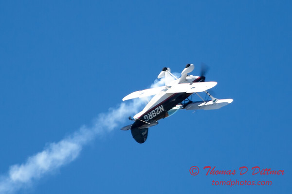 196 - Dick Schulz and the Raptor Pitts perform at the South East Iowa Air Show in Burlington Iowa