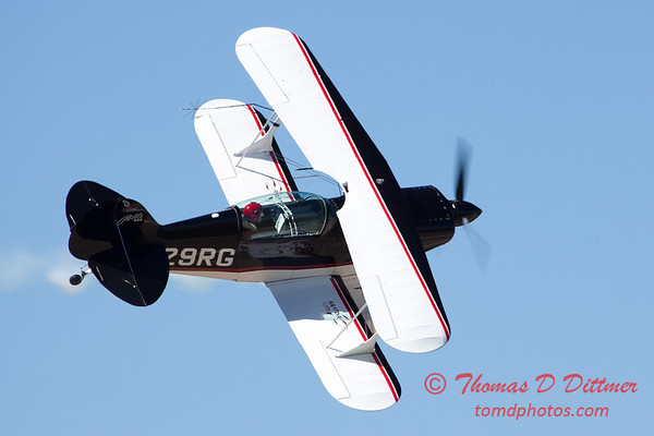216 - Dick Schulz and the Raptor Pitts perform at the South East Iowa Air Show in Burlington Iowa