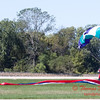 104 - Members of the Liberty Parachute Club drop into the South East Iowa Air Show in Burlington Iowa