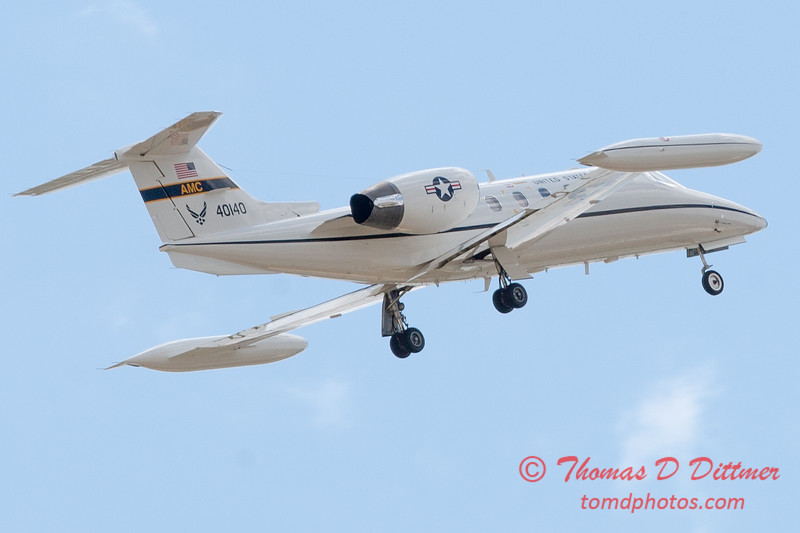 618 - US Air Force C21 departs the 2012 Rockford Airfest - Chicago Rockford International Airport - Rockford Illinois - Sunday June 3rd 2012