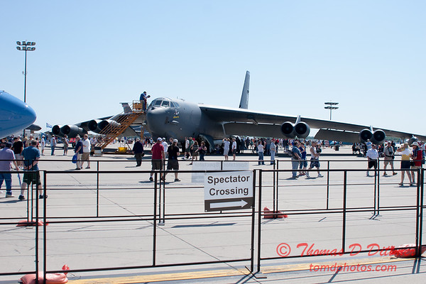 1 - B52 Stratofortress on display at the 2012 Rockford Airfest - Chicago Rockford International Airport - Rockford Illinois - Sunday June 3rd 2012