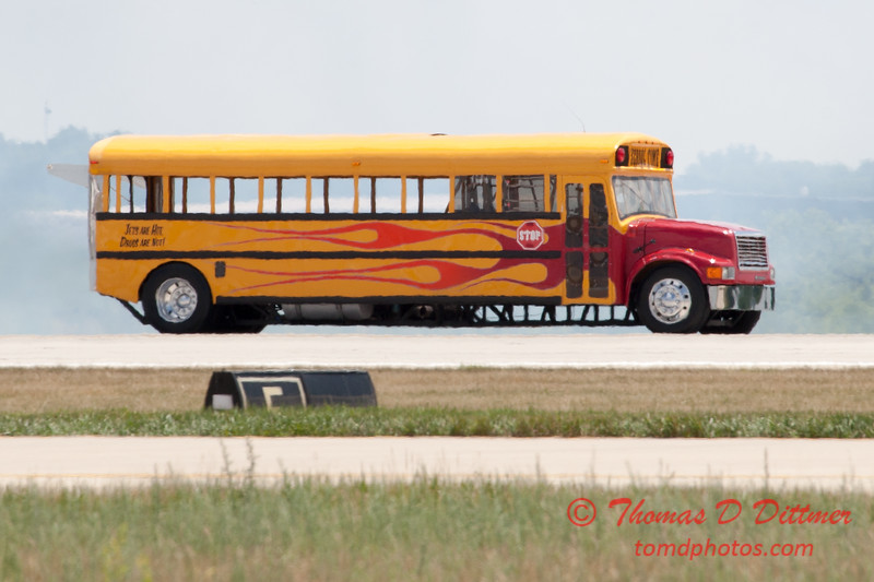 621 - Indy Boys Extreme Jet School Bus at the 2012 Rockford Airfest - Chicago Rockford International Airport - Rockford Illinois - Sunday June 3rd 2012