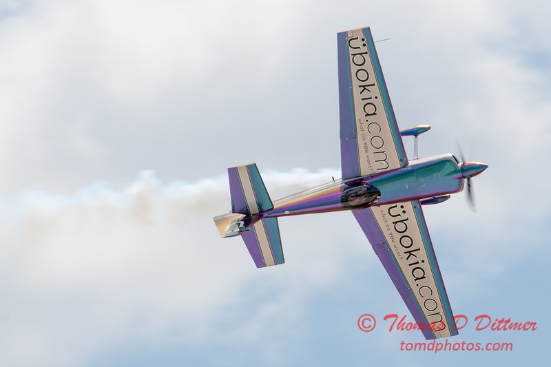 586 - Bill Stein performs in an Edge 540 at the 2012 Rockford Airfest - Chicago Rockford International Airport - Rockford Illinois - Sunday June 3rd 2012