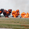 949 - Pyrotechnic Display at the 2012 Rockford Airfest - Chicago Rockford International Airport - Rockford Illinois - Sunday June 3rd 2012
