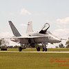 1297 - VFA 106 Hornet East F/A-18 returns to earth after performing at Wings over Waukegan 2012