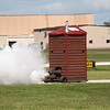 """491 - Paul Stender and the Indy Boys Mobile Out House bring new meaning to """"Hot Gas"""" at Wings over Waukegan 2012"""
