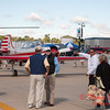 43 - Nanchang CJ6 trainer aircraft and Bell UH1 Iroquois Helicopter on display at Wings over Waukegan 2012