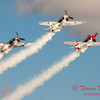 316 - Team Aerostar in Yakovlev Yak-52's perform at Wings over Waukegan 2012