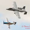 """776 - Vlado Lenoch in his P-51 Mustang and A-10 East in the """"Heritage Flight"""" at Wings over Waukegan 2012"""
