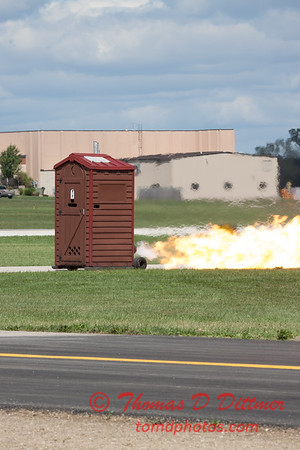 """489 - Paul Stender and the Indy Boys Mobile Out House bring new meaning to """"Hot Gas"""" at Wings over Waukegan 2012"""