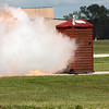 """494 - Paul Stender and the Indy Boys Mobile Out House bring new meaning to """"Hot Gas"""" at Wings over Waukegan 2012"""