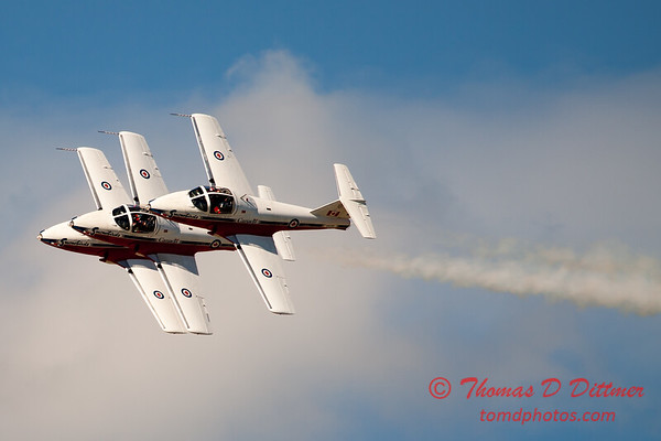 1506 - The RCAF Snowbirds performance at Wings over Waukegan 2012