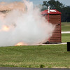 """495 - Paul Stender and the Indy Boys Mobile Out House bring new meaning to """"Hot Gas"""" at Wings over Waukegan 2012"""