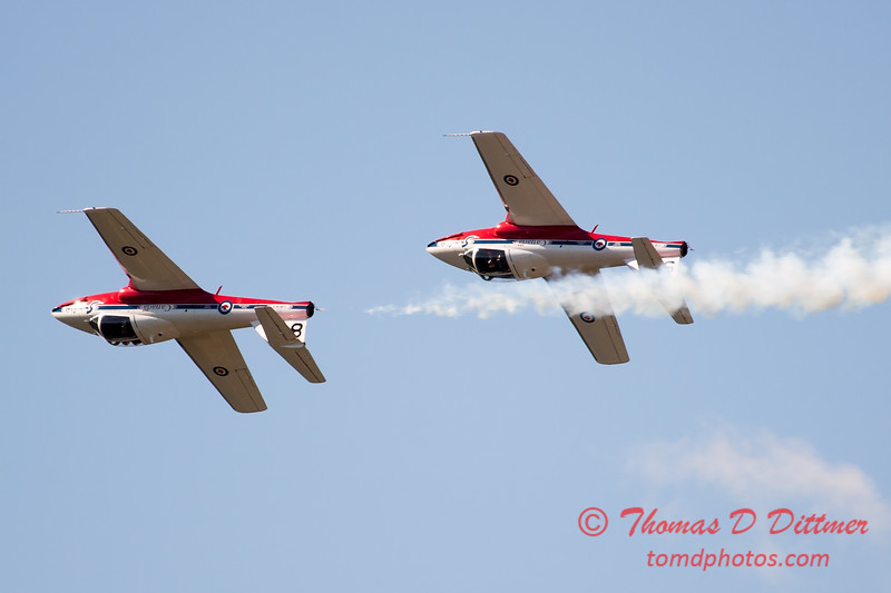 1577 - The RCAF Snowbirds performance at Wings over Waukegan 2012