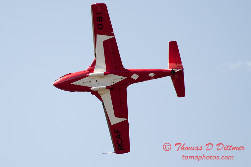 1629 - The RCAF Snowbirds performance at Wings over Waukegan 2012
