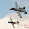 """773 - Vlado Lenoch in his P-51 Mustang and A-10 East in the """"Heritage Flight"""" at Wings over Waukegan 2012"""