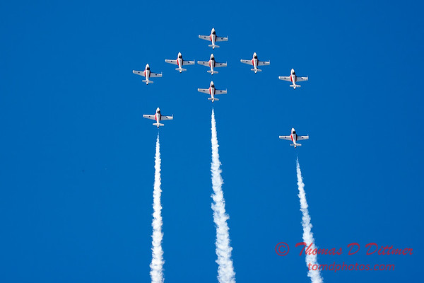 1341 - The RCAF Snowbirds performance at Wings over Waukegan 2012