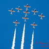 1344 - The RCAF Snowbirds performance at Wings over Waukegan 2012