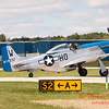 951 - Vlado Lenoch and his P-51 returns to earth at Wings over Waukegan 2012