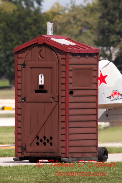 "483 - Paul Stender and the Indy Boys Mobile Out House bring new meaning to ""Hot Gas"" at Wings over Waukegan 2012"