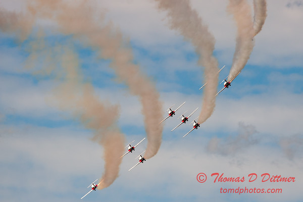 1727 - The RCAF Snowbirds performance at Wings over Waukegan 2012