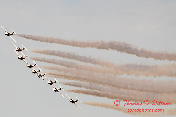 1773 - The RCAF Snowbirds performance at Wings over Waukegan 2012