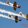 313 - Team Aerostar in Yakovlev Yak-52's perform at Wings over Waukegan 2012