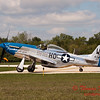 621 - Vlado Lenoch in his P-51 Mustang taxies for departure at Wings over Waukegan 2012