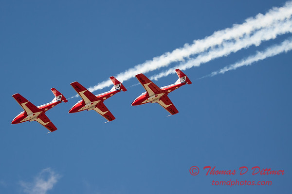 1480 - The RCAF Snowbirds performance at Wings over Waukegan 2012