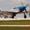 748 - Vlado Lenoch in his P-51 Mustang departs Wings over Waukegan 2012
