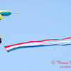 99 - Liberty Parachute Team Jumper descends into Wings over Waukegan 2012