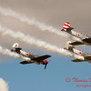 315 - Team Aerostar in Yakovlev Yak-52's perform at Wings over Waukegan 2012