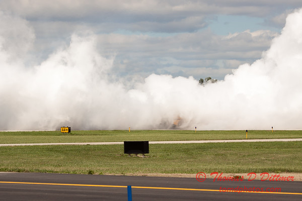 889 - Paul Stender and the Indy Boys School bus ignites the crowd at Wings over Waukegan 2012