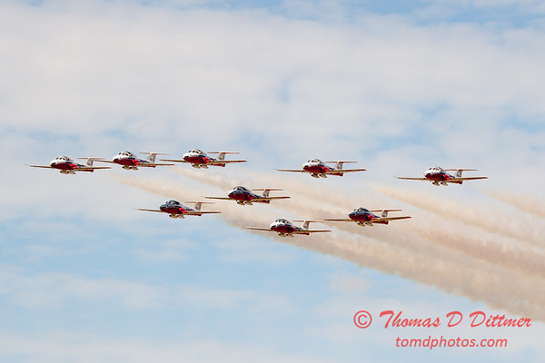 1780 - The RCAF Snowbirds performance at Wings over Waukegan 2012