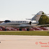 24 - Hawker/Beechcraft 800XP taxies for departure at Wings over Waukegan 2012