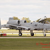 851 - A-10 East arrives at Wings over Waukegan 2012