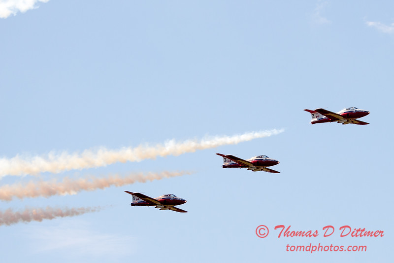 1500 - The RCAF Snowbirds performance at Wings over Waukegan 2012