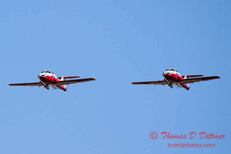 1612 - The RCAF Snowbirds performance at Wings over Waukegan 2012
