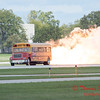 866 - Paul Stender and the Indy Boys School bus ignites the crowd at Wings over Waukegan 2012